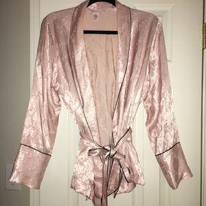 VS light pink mini robe